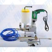 Электрический двухкомпонентный поршневой инъекционный насос ASPRO-600 2:1