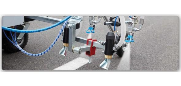 Оборудование для разметки дорог