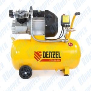 Компрессор пневматический, 2,2 кВт, 350 л/мин, 50 л Denzel