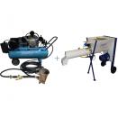 Штукатурная мини станция Ruhopper - для стен + Растворосмеситель Stirex ms10