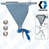 GRACO G-TEX 25D497 ТЕКСТУРНЫЙ ПИСТОЛЕТ С УВЕЛИЧЕННЫМ БУНКЕРОМ 6Л