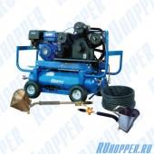 Автономная (бензин) штукатурная мини станция (Хоппер-установка) ЕК-2RZ-A