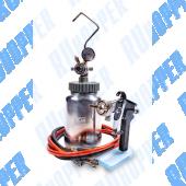 Красконагнетательный бак 2 литра с краскопультом и комплектом шлангов (R8313)