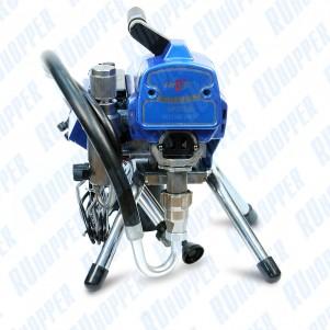 Аппарат поршневой окрасочный HYVST SPT 8595 с электрическим приводом для безвоздушного распыления лкм под высоким давлением до 230 атм.
