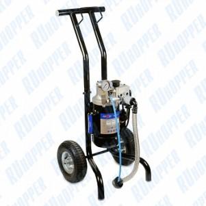 Аппарат высокого давления окрасочный HYVST SPX 1250-310  на колесной телеге