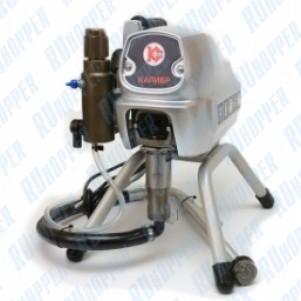 Аппарат безвоздушного распыления Калибр АБР-850 для нанесения лакокрасочных материалов методом безвоздушного распыления.