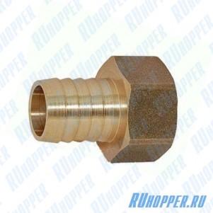 Штуцер для шланга 1/2 вн.р. латунь (Италия) 16-18 мм