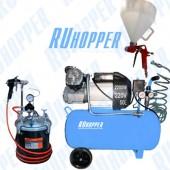 Комплект для нанесения декоративных штукатурок и густых смесей ПРОФИ RH RK-1K